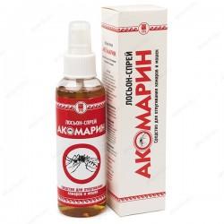 Акомарин лосьон-спрей от комаров и мошек